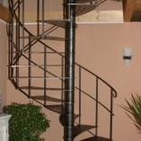 Angebot Landhaustreppe mit Kniegurtgeländer