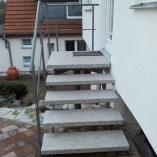 Holmtreppe als Außentreppe