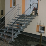 Holmtreppen für den Außenbereich