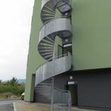 Fluchttreppe Treppenturm