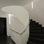 Geschäftstreppe, Sonderkonstruktion Kuturzentrum Heinerscheid