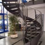 Bogentreppe Innen