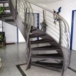Bogentreppe Innen Bogen