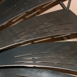 Innentreppe Typ Landhaus aus Stahl
