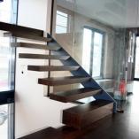Kragarmtreppe als Innentreppe