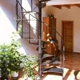 geschmiedete Treppe Landhaus Herwig