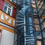 Treppentürme mit Spindeltreppen