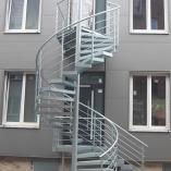 Aussentreppen Treppenturm