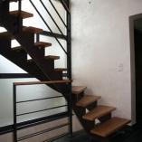 Zacken-Wangen-Treppe