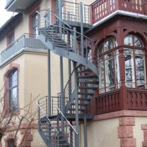 Außentreppe Sonderkonstruktion
