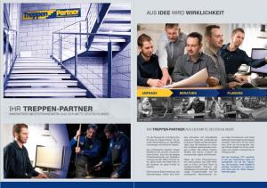 Treppen-Partner Broschüre